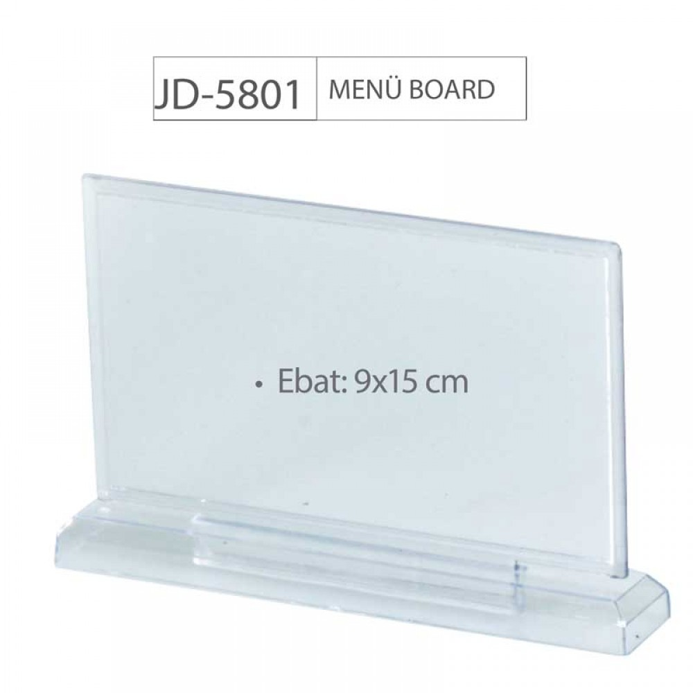 JD-5801 MENÜ BOARD